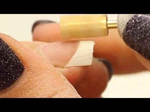 Acrylic Nail Realignment Infill And Reshape Tutorial Video By Naio Nails Acrylic Nails At Home Nail Tutorial Videos Acrylic Nails