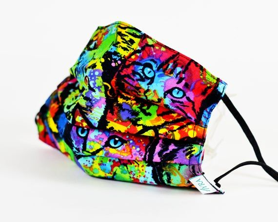 COLORFULL CAT Face Mask / Surgical Mask / Cotton Face Mask