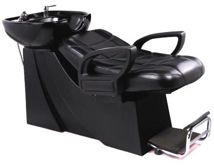 Italica Shampoo Hair Washing Sink Lay Down Unit With Headrest In The Shampoo Bowl Great For Bad Backs Shampoo Chair Shampoo Bowls Chair
