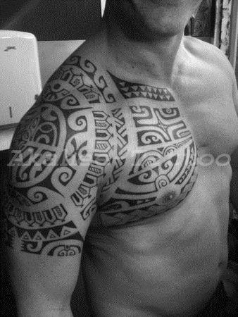 R sultat de recherche d 39 images pour tatouage femme bras marquisien tatouages polyn siens - Tatouage polynesien femme bras ...