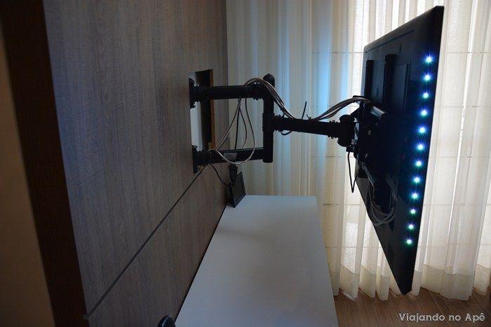 Suporte articulado tv painel 3 decora o para casa - Soporte articulado tv ...