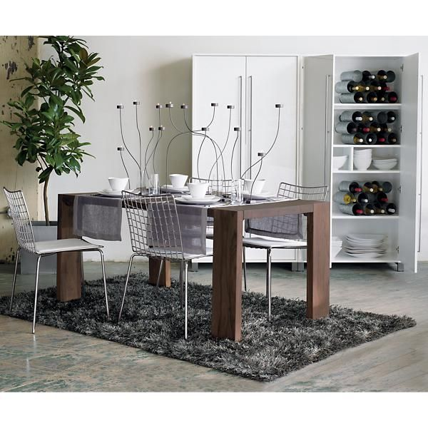 Blox Mango Dining Table At Cb2 Cb2 Dining Room Living Dining Room Dining Table