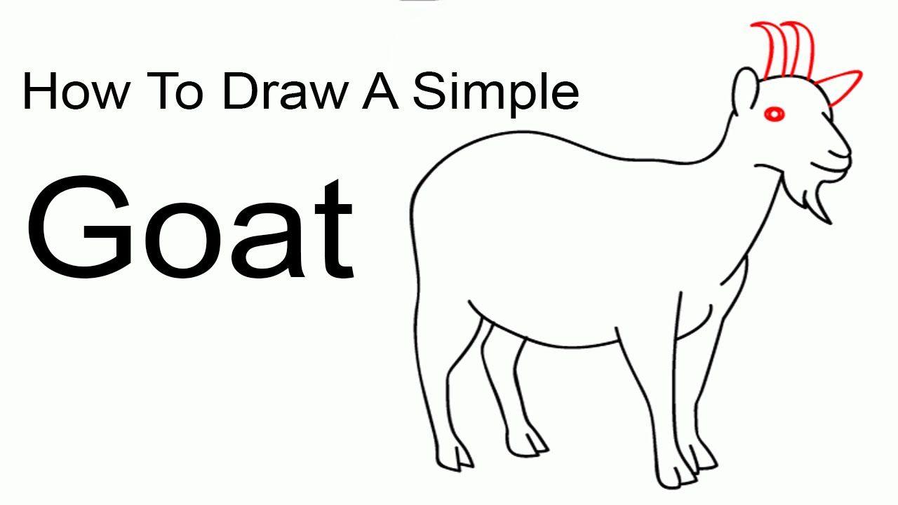 a57c91ccf40743b2118b68762964ffec » Simple Goat Drawing