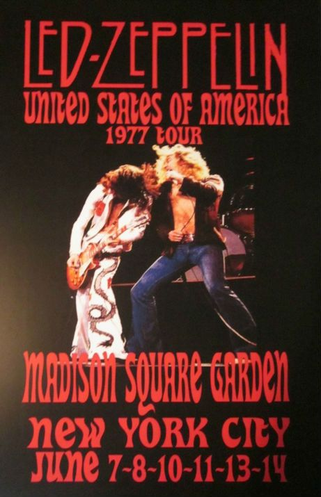 7 8 10 11 13 14 Led Zeppelin Usa Nyc Madison Square Garden Db 2 M 06