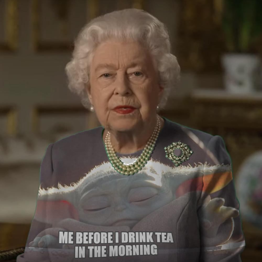 Peter Chiykowski On Twitter In 2020 Queen Green Screen Queen Meme Queen Of England