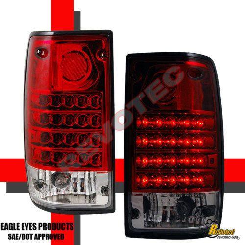 89 95 Toyota Pickup Led Tail Lights Lamp 90 91 92 93 94 Led Tail Lights Tail Light Lamp Light