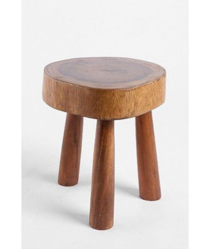 Use A Small Wooden Stool In Front Of Or Next To The