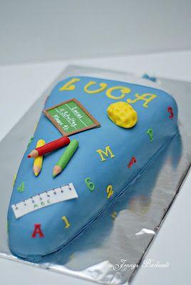 Fraufondant Einschulungskuchen Kuchen Einschulung Torte Einschulung