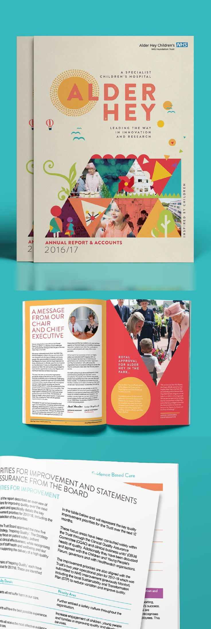 Alder Hey Annual Report 2016/17 by www.diagramdesign.co.uk #annualreports