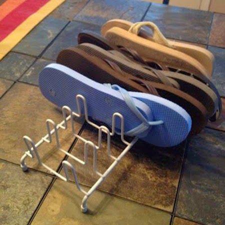 Tu Organizas.: Organize seus chinelos