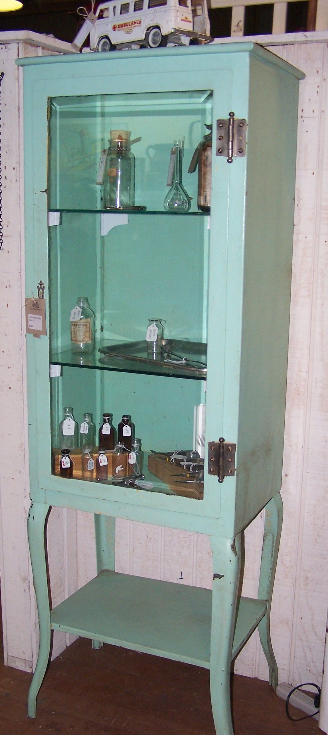 Medical cabinet Vintage Medical Pinterest