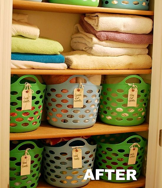 Wonderful Organize Your Linen Closet Part - 5: Organizing Your Linen Closet