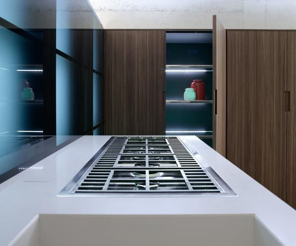 Photo of Cucine open space moderne | Glas