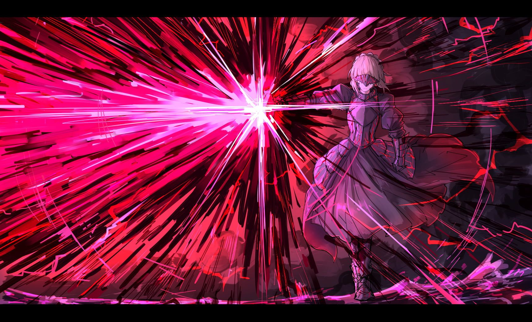 Anime Girls Anime Saber Alter Fate Stay Night Fate Series Fate