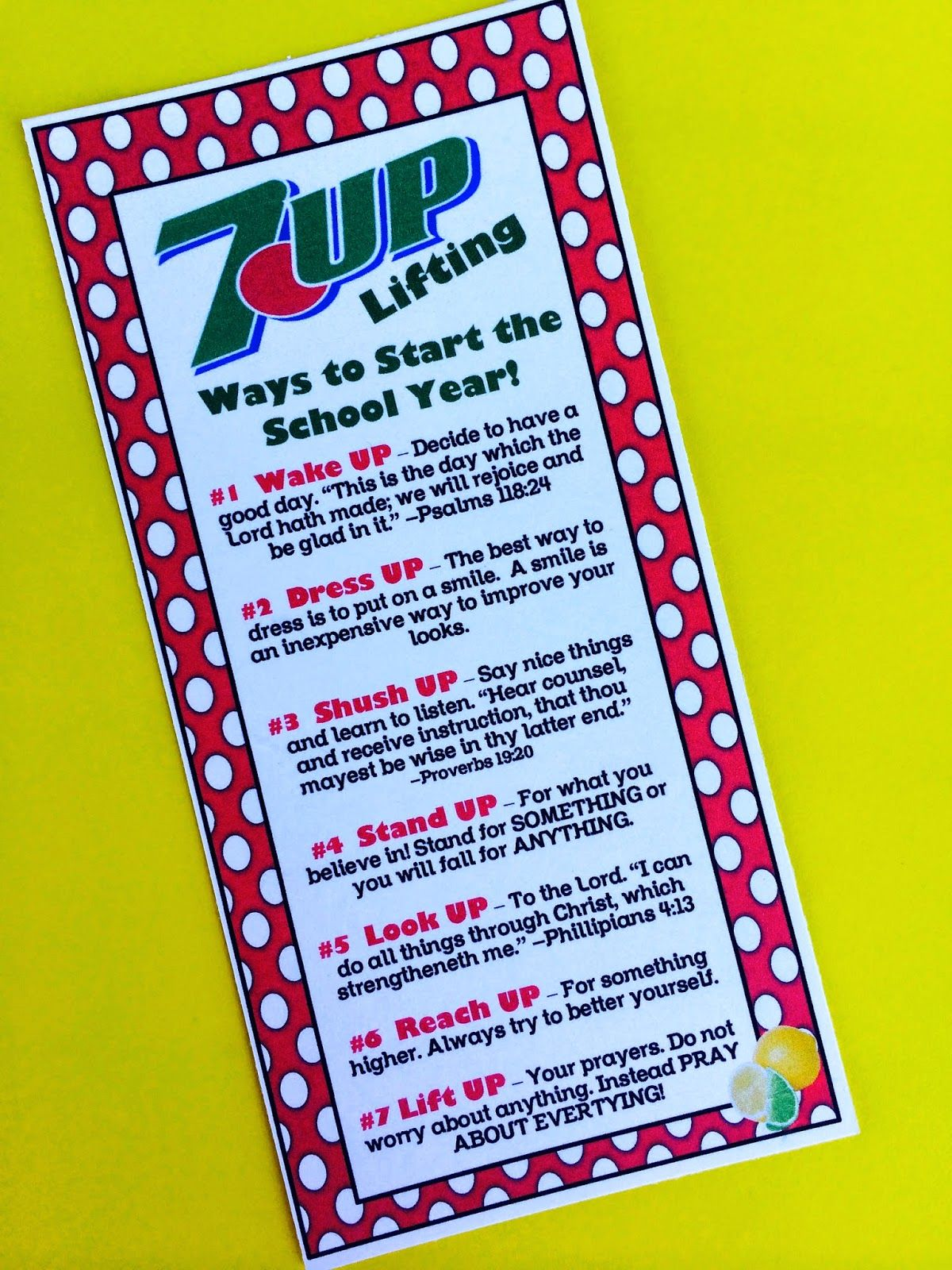 7 Up Back To School Treat From Marci Coombs Blog