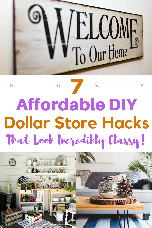7 Affordable DIY Dollar Store Hacks That Look Incredibly Classy ...