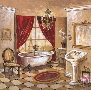 Contemporary Bathroom Art Prints persian bath ~ fine-art print - contemporary bathroom art prints
