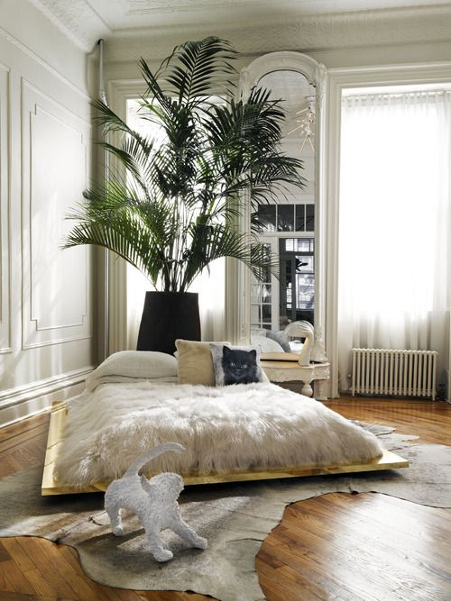 Source Kelly Behun Studio I Think Greenery Should Be Used More In Our Homes It Adds A Freshness And I Reckon Bedroom Inspirations Home Bedroom Bedroom Design