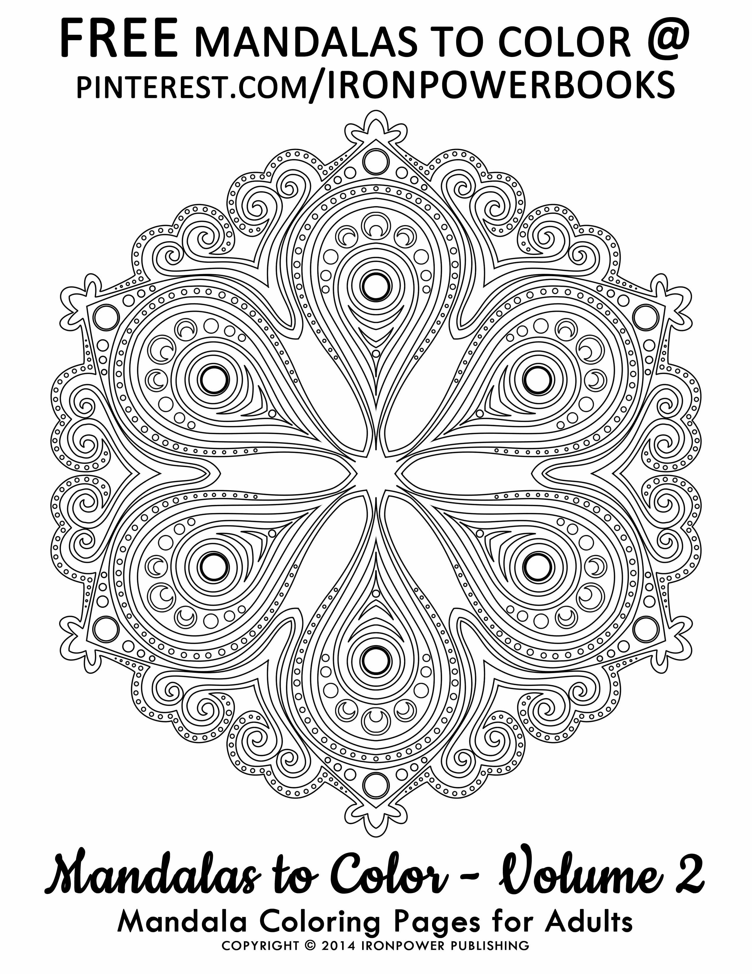 Hello There Cathymalchiodi This Is A Free Mandala Coloring