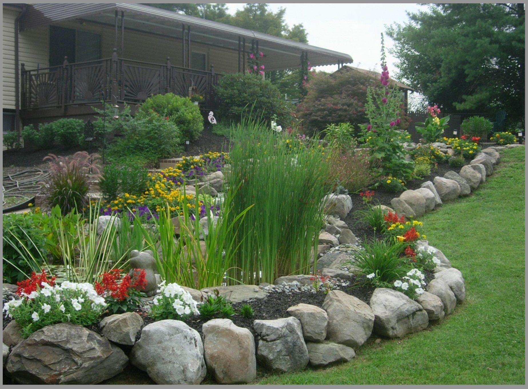 Borders and Retaining Walls - Premier Ponds Maryland's #1 ...