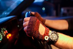 Ravelry: Smart Driver Mitts pattern by Lizzie Laine