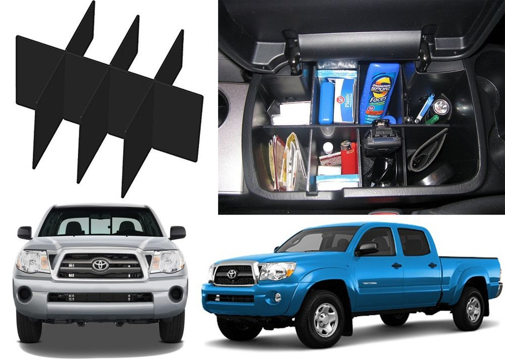 Center Console Organizer For 2005-2015 Toyota Tacoma New Free ...