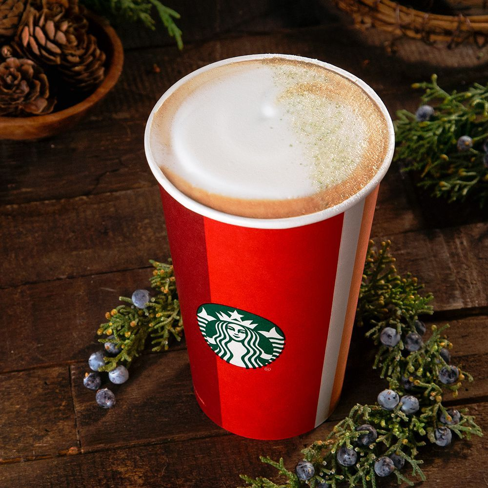 Starbucks' New Juniper Latte Is Actually Not That Bad For