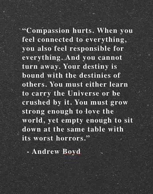 Compassion Hurts