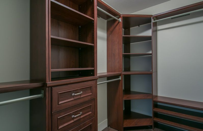 Architecture And Interior Various How To Maximize Storage Space In Closet Corners L Sh Home Depot Closet Organizer Home Depot Closet System Diy Walk In Closet