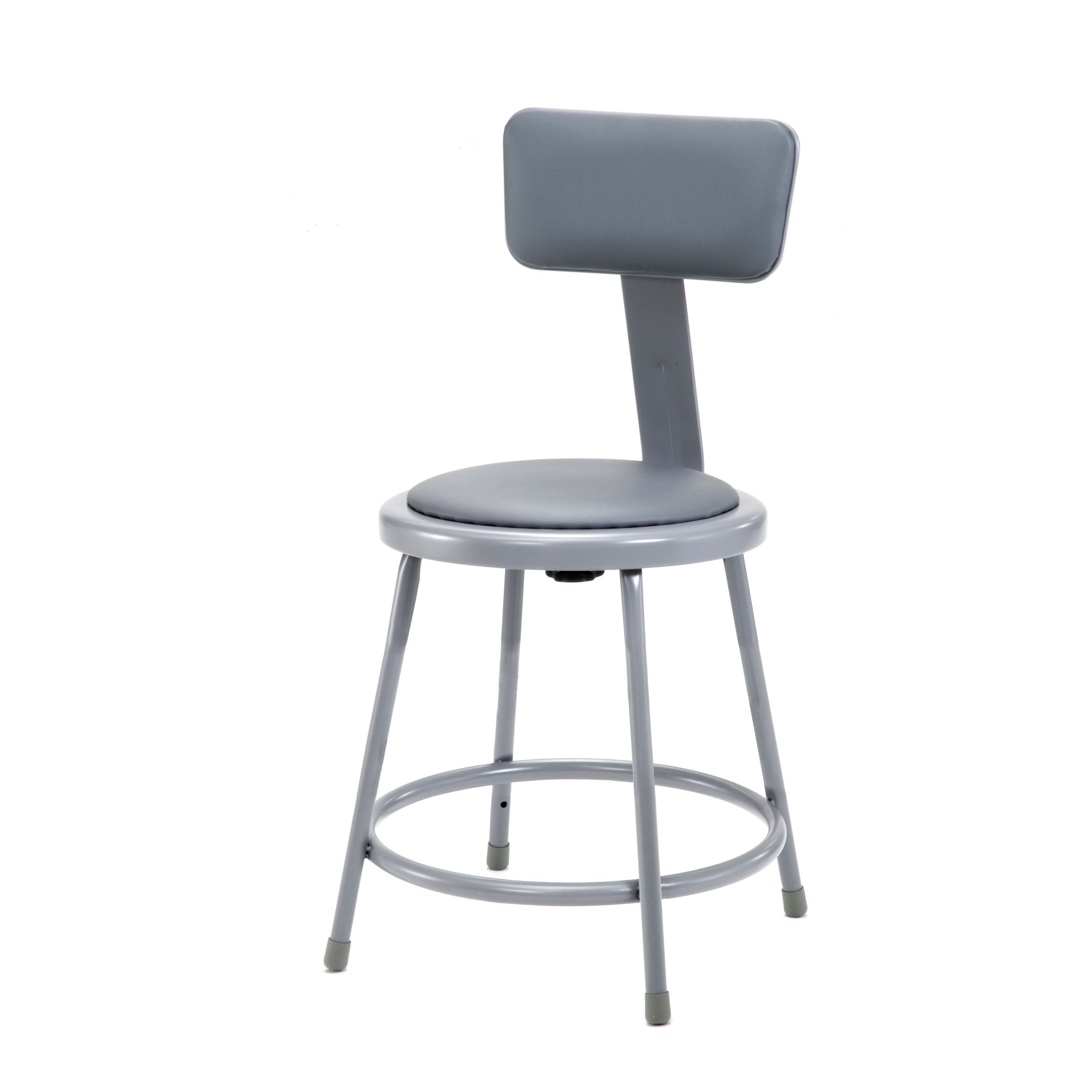 National Public Seating 18 Inch Vinyl Padded Stool Products