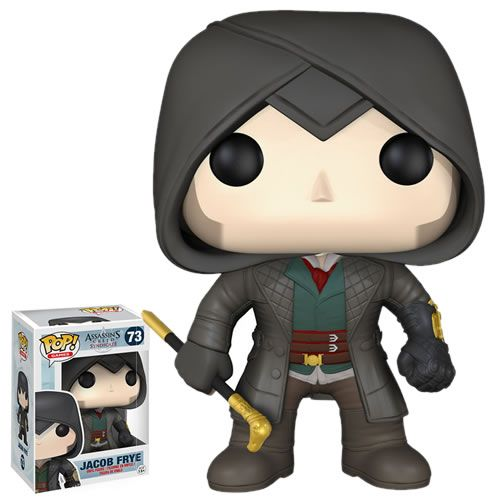 Assassin/'s Creed Syndicate Jacob Frye Vinyl Figure Toy Funko Pop