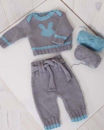 modele habit bebe tricot