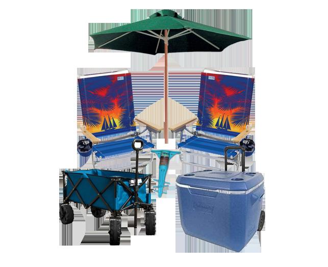 Beach Chair And Umbrella Rental Surfside Beach Sc In 2020 Beach Gear Beach Chair Umbrella Beach Vacation