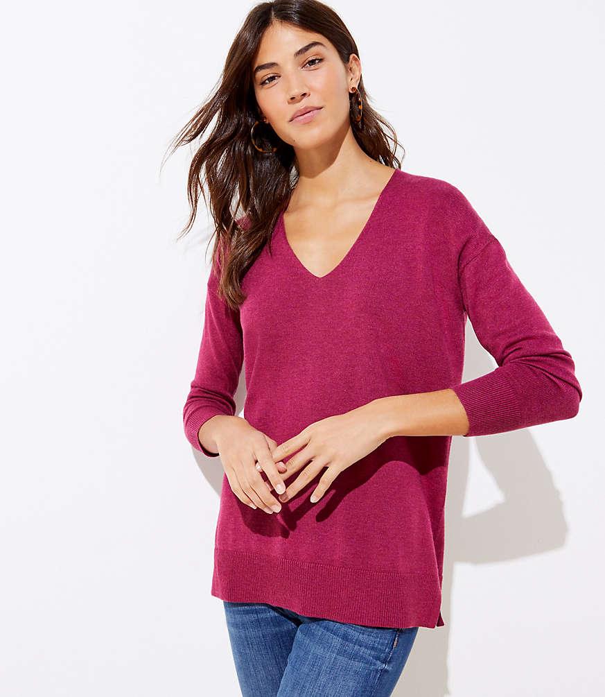 LOFT V-Neck Sweater #loftclothes