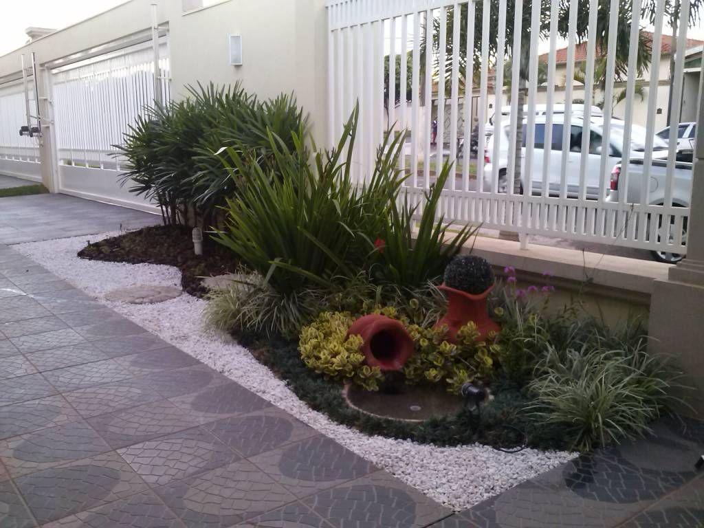 20 Jardines Bonitos Para La Entrada De Tu Casa Jardins Pequenos