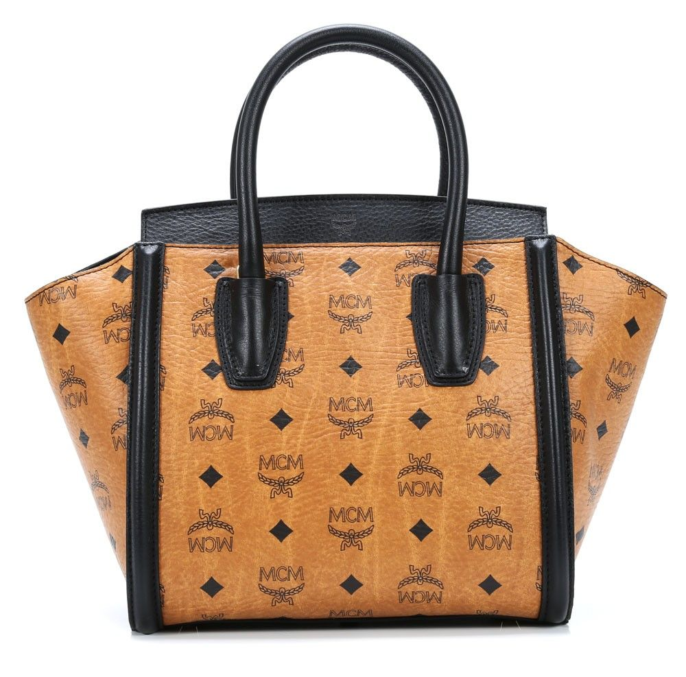 tasche von mcm visetos vintage handtasche cognac 24 cm backs pinterest luxus. Black Bedroom Furniture Sets. Home Design Ideas