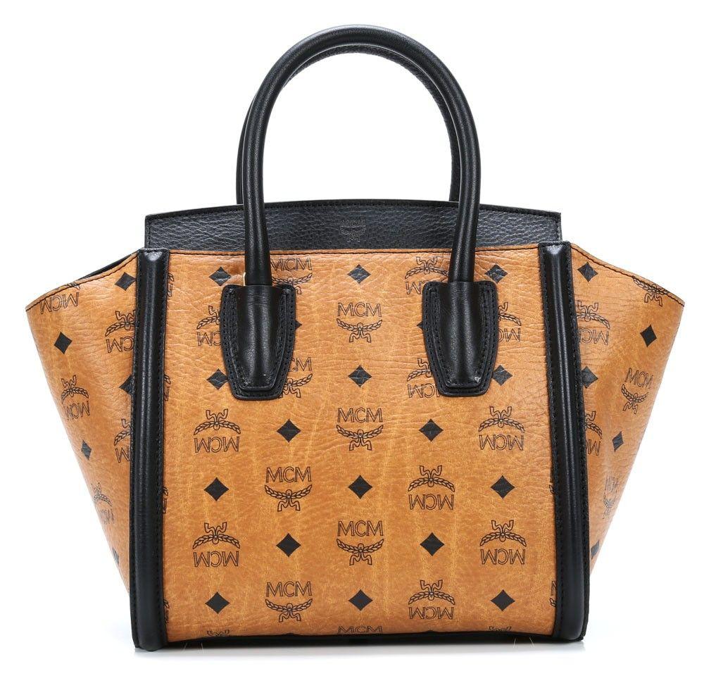 tasche von mcm visetos vintage handtasche cognac 24 cm backs pinterest. Black Bedroom Furniture Sets. Home Design Ideas