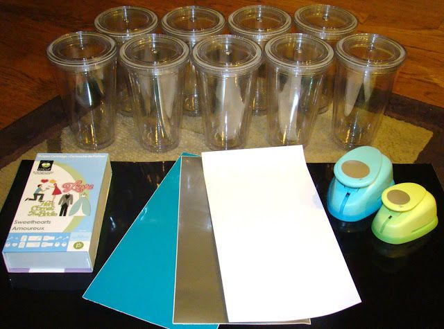 Tuesday Tutorial 6 Personalized Acrylic Tumblers