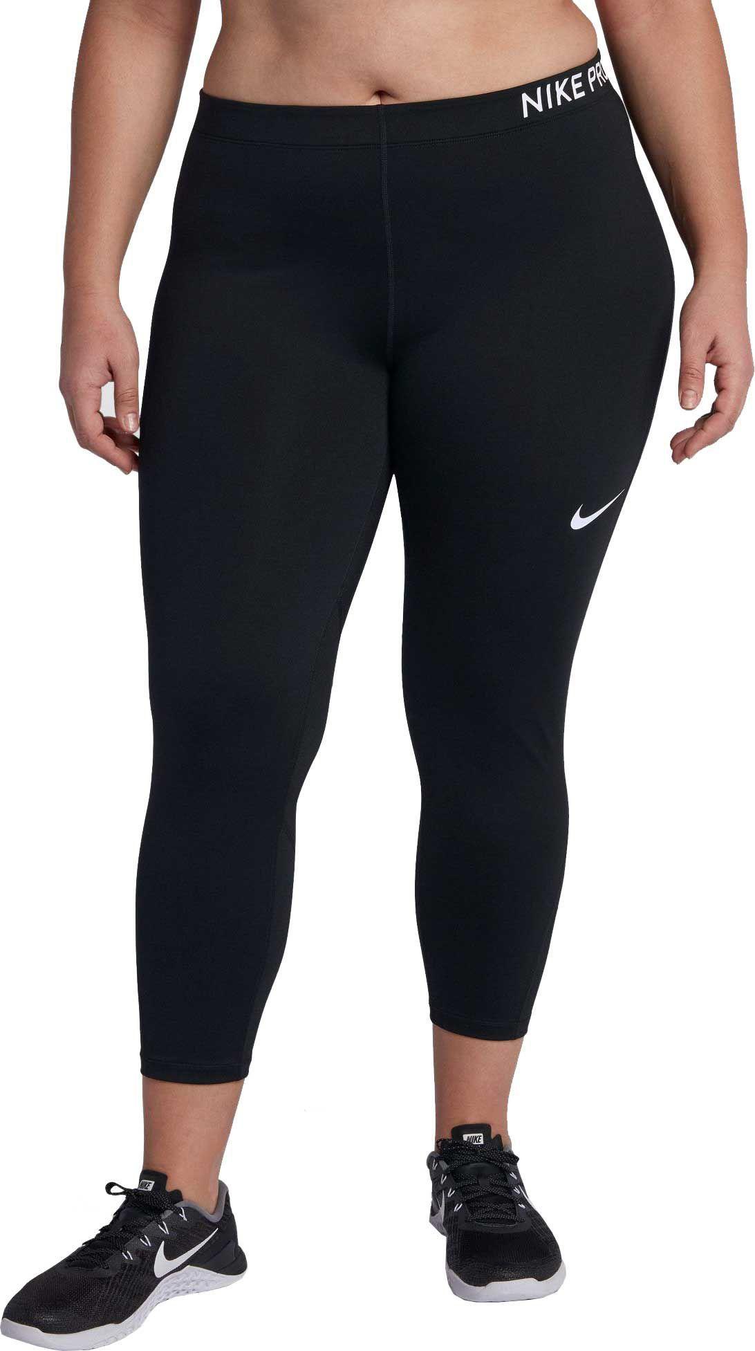 Nike Women S Plus Size Pro Training Capris Best Plus Size Clothing Plus Size Clothing Online Athletic Outfits
