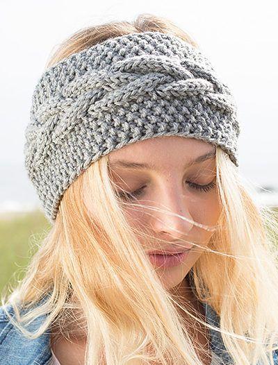 Free Knitting Pattern for Calisson Headband | Crotchet & Knitting ...