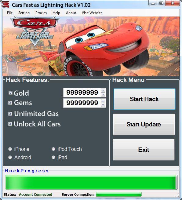 Cars Fast As Lightning Hack Tool Cheats Engine Working No Survey Fast Cars Tool Hacks Cheat Engine