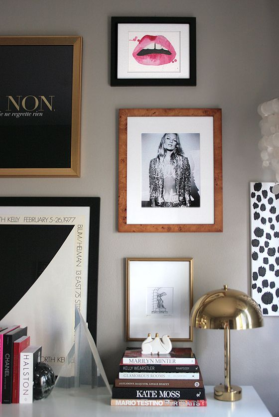 Small Shop Gallery Wall Femme Modern Kate Moss