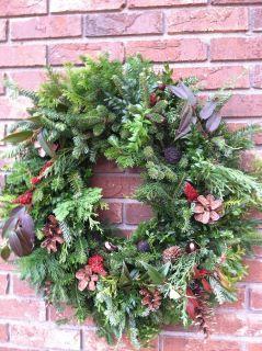 Wreath I Made At Hackett S Christmas Tree Farm So Much Fun Christmas Tree Farm Tree Farms Farm