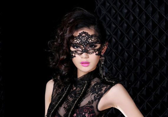 fe629caa277 Sexy Lace tie back Masquerade Mask Sexy Lingerie Mask Black Lace Mask  DOLLAR SHIPPING on Etsy, $12.50