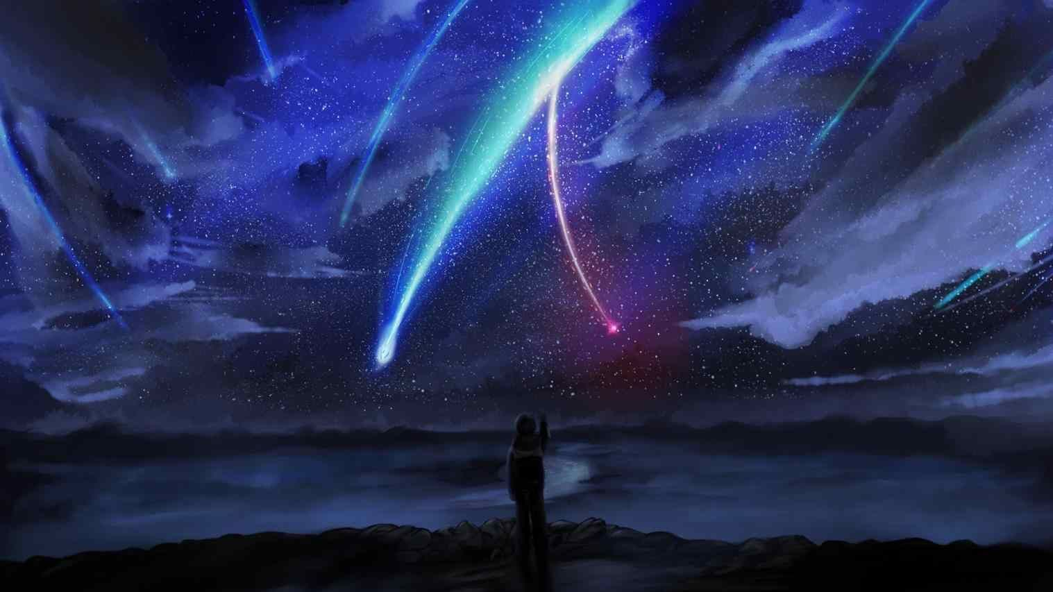 Dark Anime Scenery Wallpapers Desktop With Images Anime
