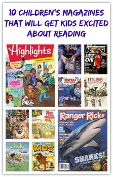 10 Children's Magazines That Will Get Kids Excited About Reading