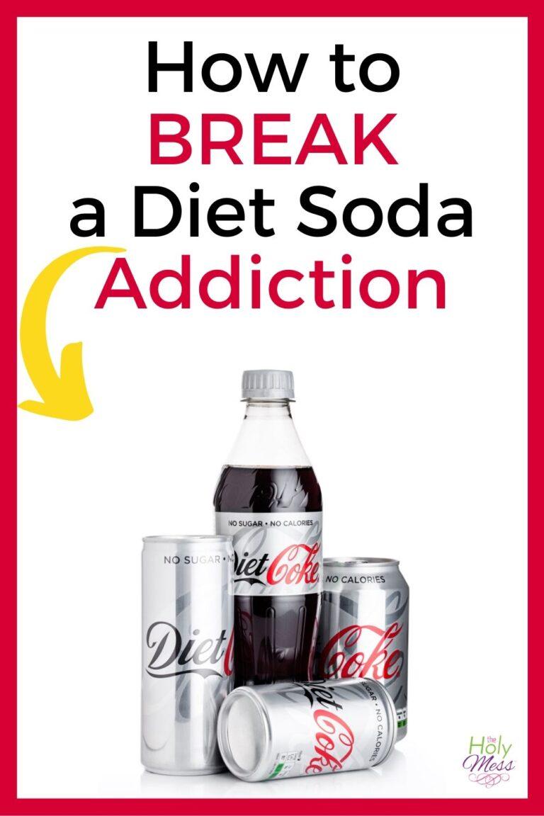 how to break diet soda addiction