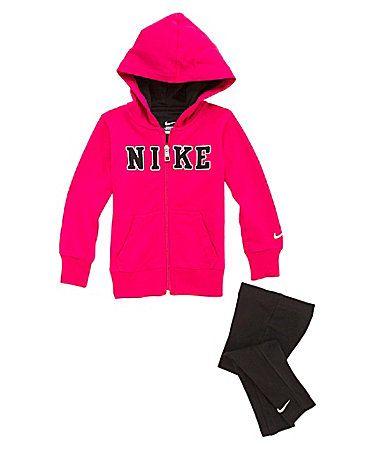 Nike 2T6X 2Piece FullZip Hoodie Set #Dillards