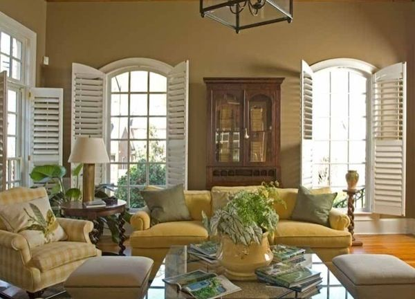 Lovely Enhancing Your Interiors With Modern Wood Shutters Design