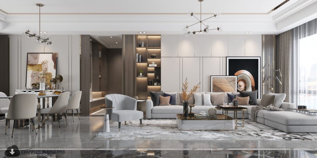 3D Interior Scenes File 3dsmax Model Livingroom 277 By ...